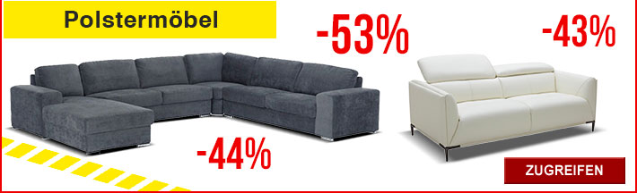 letzte chance auf restposten sofas m bel u v m kauf unique gutscheine deals. Black Bedroom Furniture Sets. Home Design Ideas