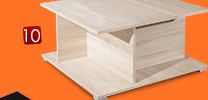 Table basse PRISCA