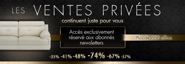 Vente ventes priv es salon s jour chambre - Meilleur site de vente privee en ligne ...